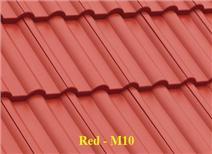 ngói màu fuji, mái nhà siêu nhẹ, ngói màu xi măng